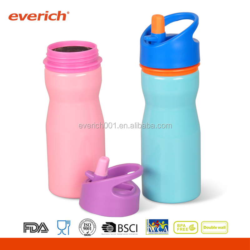 Everich wholesale 350ml double wall insulated stainless steel water bottle for kid