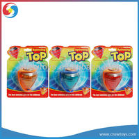 Light up spinning top toys flashing light pull line spinning top beyblade