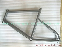 "titanium road bike weldless frame with 20"" wheel size 20"" titanium touring bike frame"