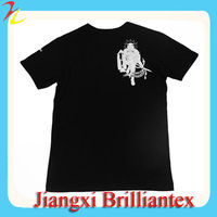 2013 fashion style next to skin tight men's short sleeve knitted t shirt made in china