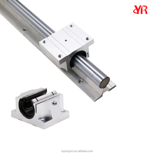 Cheap circular saw linear guide rails for elevator or other linear motion