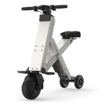 Range per charge 30km Foldable electric scooter three wheels 350w electric skateboard