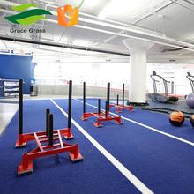 Hard wearing skidproof Artificial Turf For Gym Mat Carpet