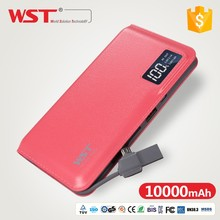 best selling mobile accessories WP928 smile power bank with flashlight