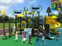 KAIQI Aleins Series kids favorite attractions plstice outdoor playground playsets