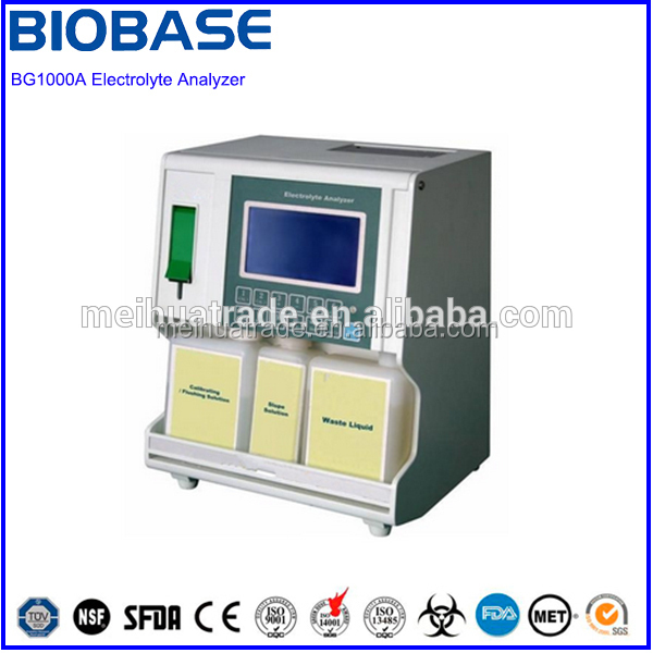 Blood Gas Electrolyte Analyzer with Electrode-checking Function