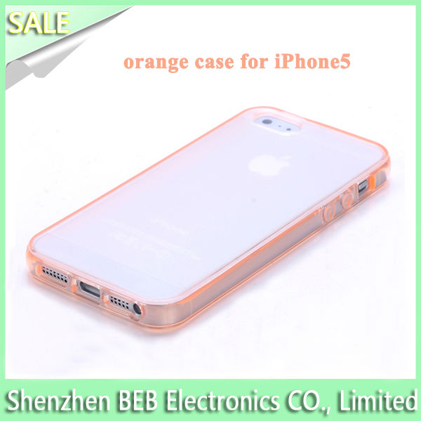 Wholesale sublimation case for iphone5 from China's gold manufacture