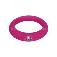 Fashionable And Shine Silicone Ring With