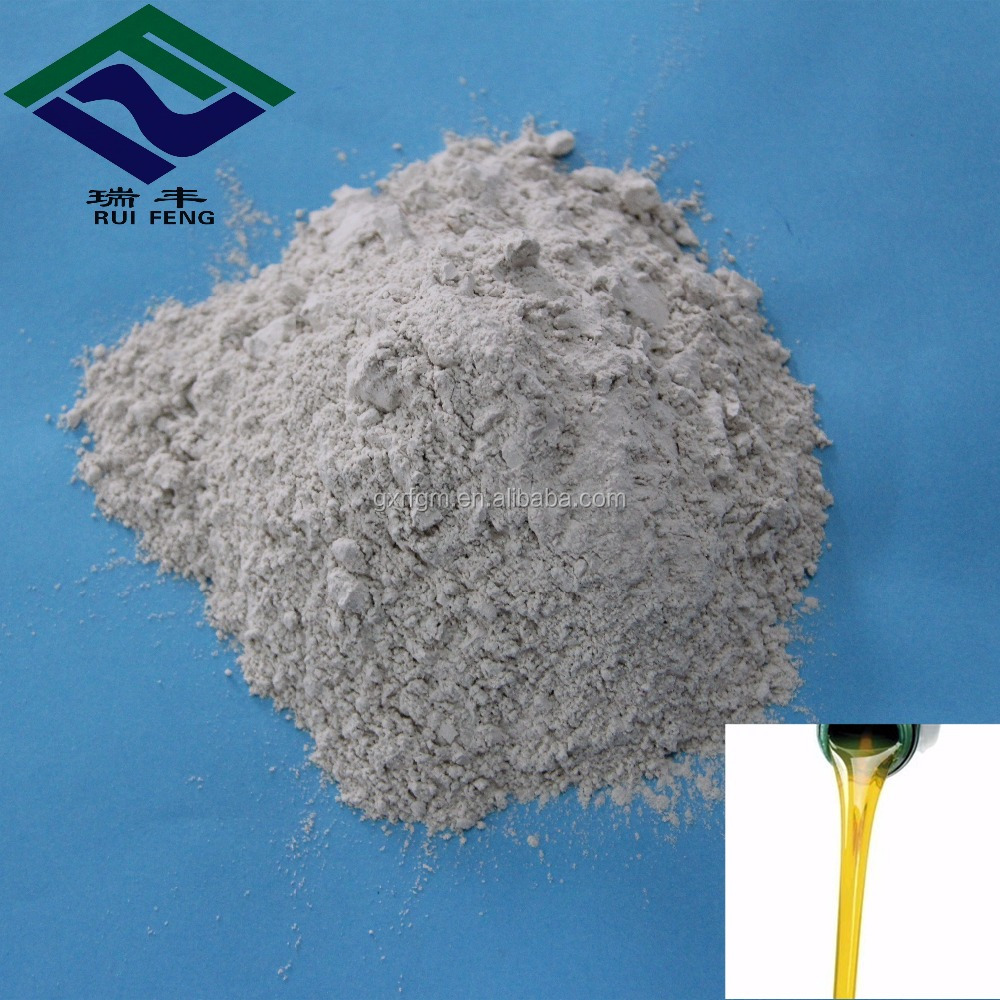 tonsil grade activated bleaching earth granular clay for lubricating oil refining