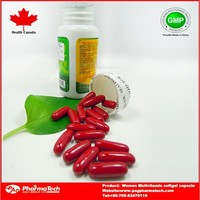 Chinese OEM Women multivitamin softgel capsules