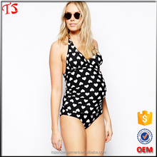 Clothing manufacturer pregnant women maternity swimwear one piece swimsuit