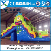 Cheer Amusement Space Themed Large Inflatable Castle Inflatable Bouncer Fun City