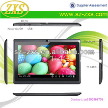 "ZXS-Q88 Smart Direct Buy China 7""/Google Android Mini PC Tablet for Kids/Cheap Chinese Laptops Kids Tablet"