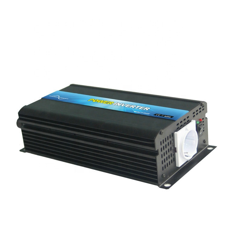 12v to 220v 1000 watt offgrid dc to ac power inverter used for light Milk Machine TV or Other Home Appliance