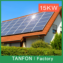 Flat roof solar panels mount photovoltaic project applications 8kw rooftop photovoltaic system grid-tied solar photovoltaic