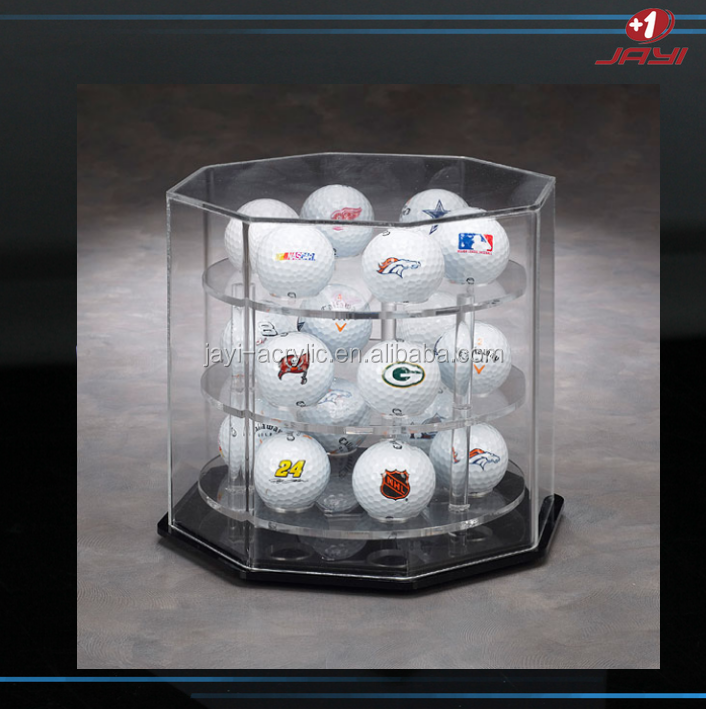 Alibaba China Acrylic display case for baseball tennis balls