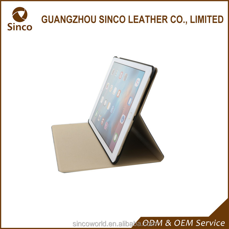 OEM fashionable pu shockproof leather case tablet cover for ipad 3