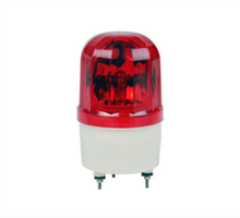 Voiced rotary flashing emergency light, red 220V amber spider beacon