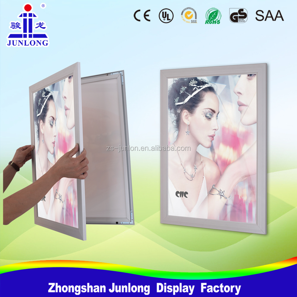 Super Slim Magnetic Light Box LED Aluminum Photo Picture Frame
