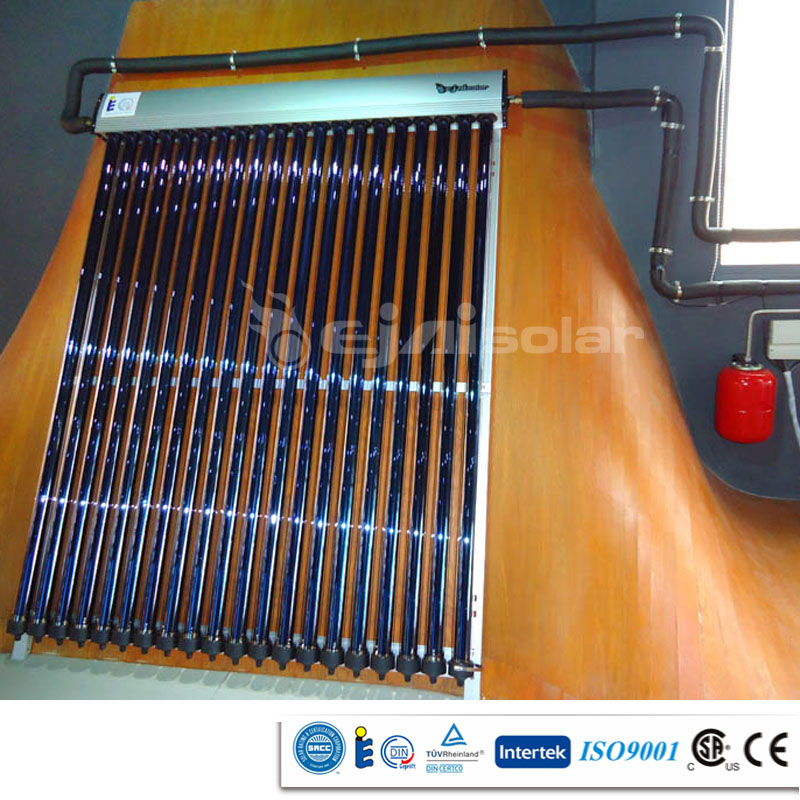 Heat Pipe Pressurized Solar Energy System With SRCC,Solar KEYMARK,CSA
