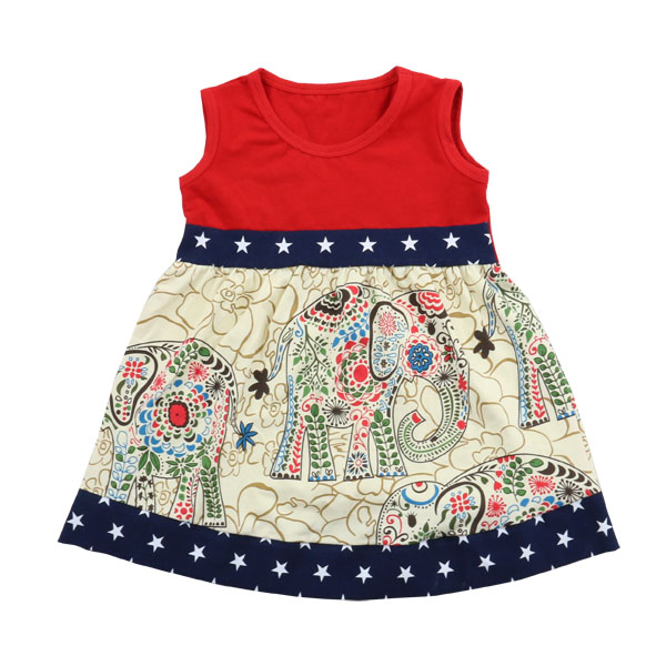 2017 sweet girl dress cheap high quality wholesale boutique baby clothes children frocks designs