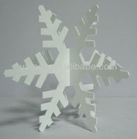 Hot Sales Outdoor Acrylic Decoration Snowflower New Christmas Decoration 2013
