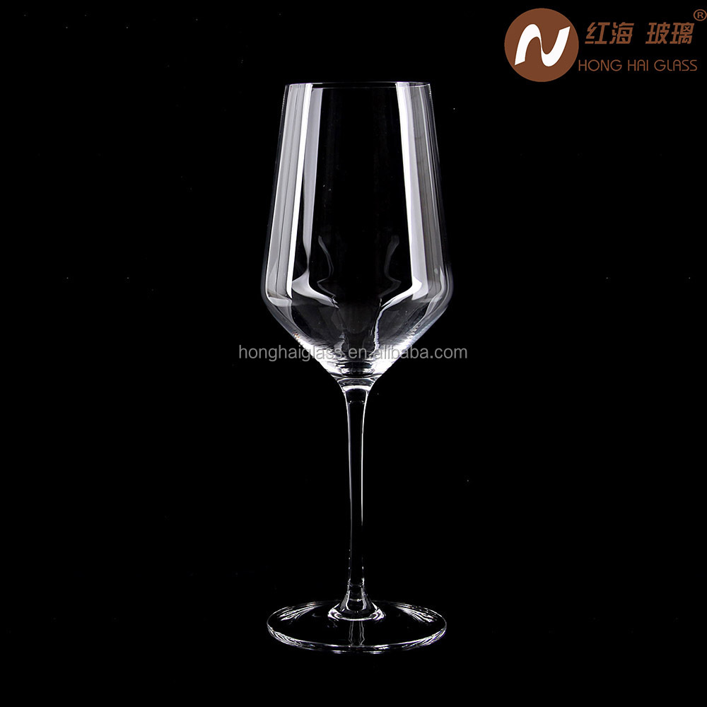 Handmade Red Wine Glass red color 0069B