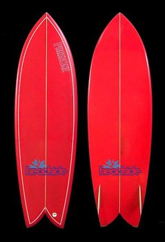 Red retro fish surfboard for sale buy retro fish for Fish surfboard for sale