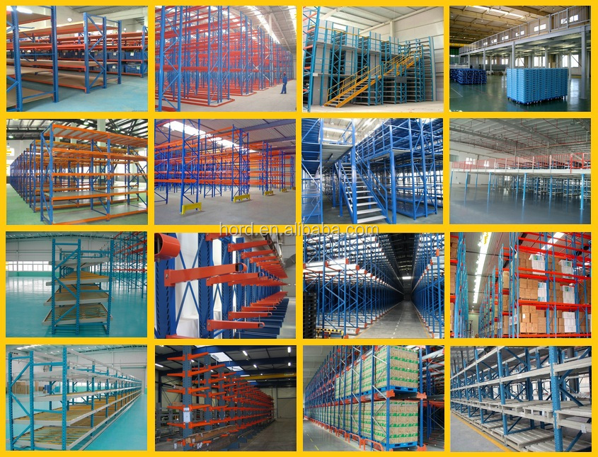 Warehouse storage Gravity Carton Flow Rack