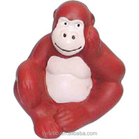 promotional pu stress soft Orangutan stress ball