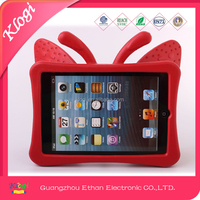 new products on silicone case for ipad mini butterfly