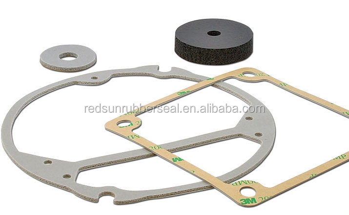 adhesive silicone foam gasket