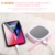 Portable LED light selfie ring light makeup mirror function with small battery