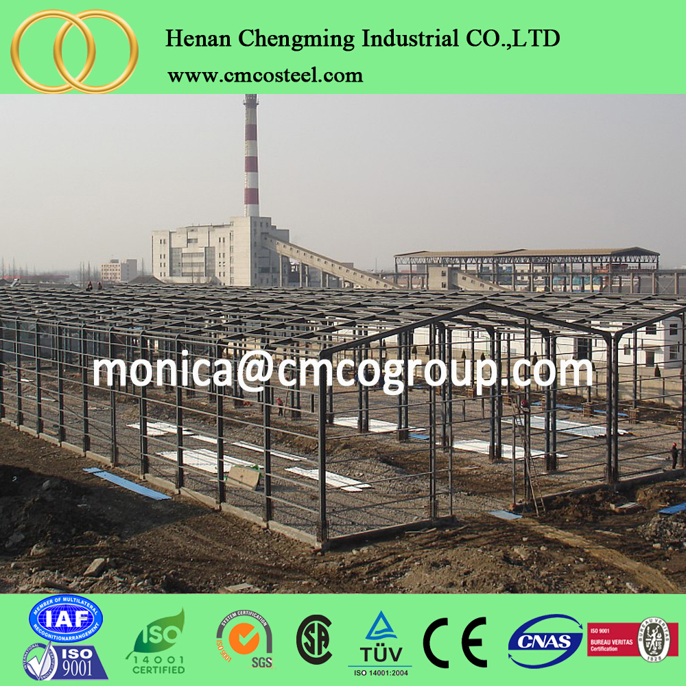 enviromental friendly steel generator warehouse