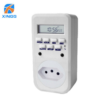 Supply Timer Socket Power Plug Manual Timer Switch