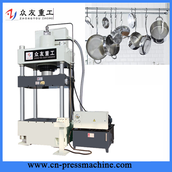 cheap price four-column hydraulic deep drawing press machine for aluminium extrusion