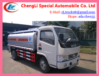 DFAC Euro3 ,2000-5000L oil transport vehicle,oil tanker for charter