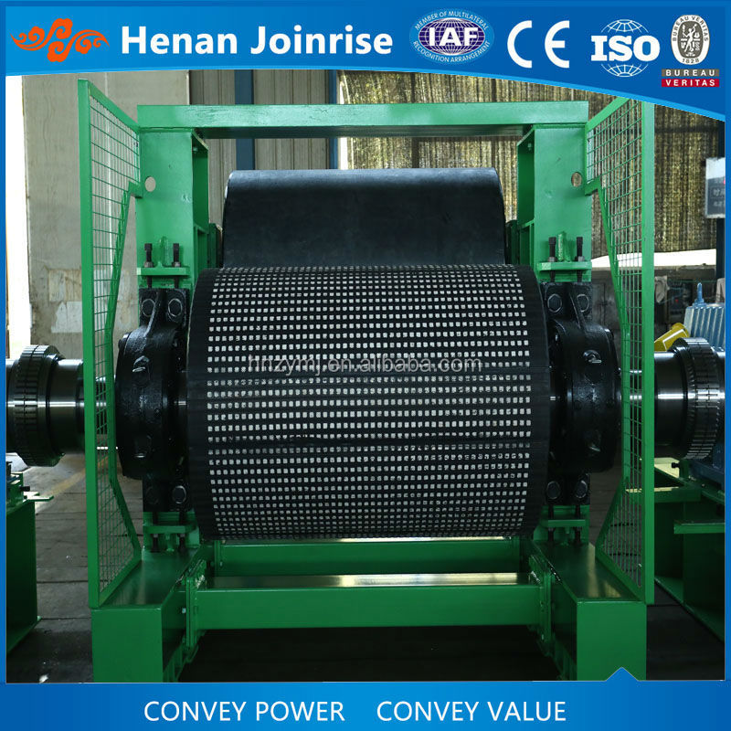 Mining rubber ceramic pulley/drum lagging