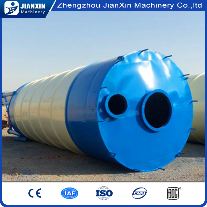 factory directly supplying horizontal 60t cement silo