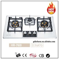 2016 new design SUS stainless steel gas stove
