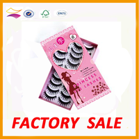 Fashion small high end false eyelash packaging box