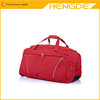 China best selling Red luggage bag travel