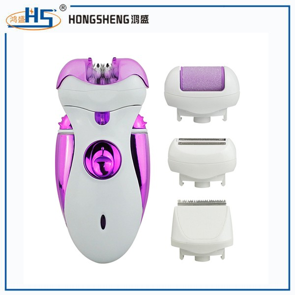 2016 Hottest Super Effective Callus Remover Shaver Lady Epilator 4 In 1