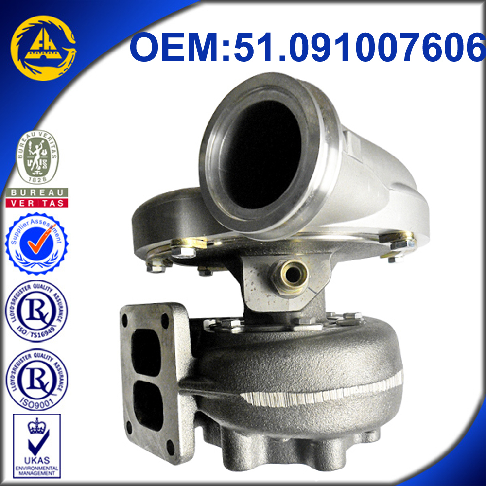 Turbocharger Used For: K31 Turbo Used For Man Diesel Trucks Man D2866