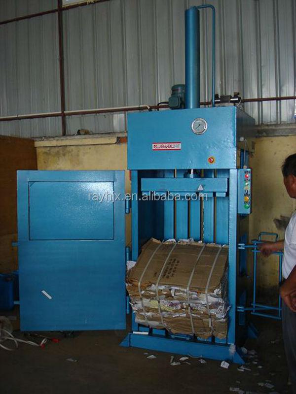 plastic bottle compactor machine