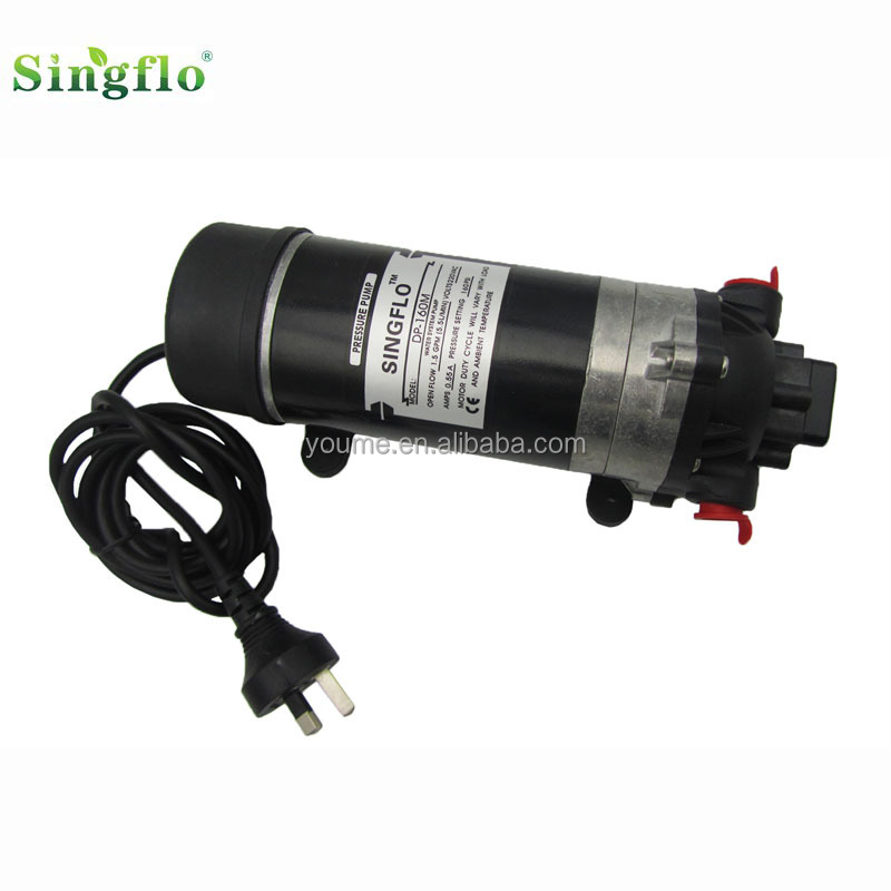 Singflo electric high pressure water pump 12v/Car Wash High Pressure Water Pump