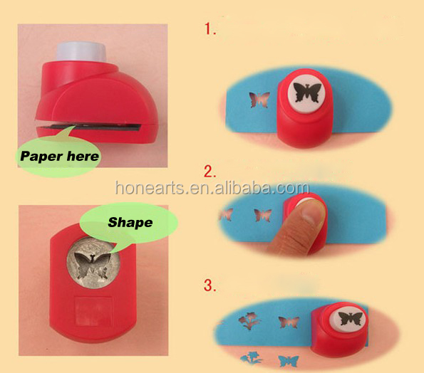 different shape mini craft eva puncher