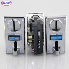 Game machine accessories: Comparison of CPU type intelligent electronic multi coin acceptor which in coin operated games