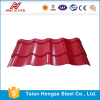 color coated Corrugated Metal Steel galvanized sheet metal roofing price