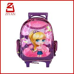 2016 new fashion online shopping kids trolley bag